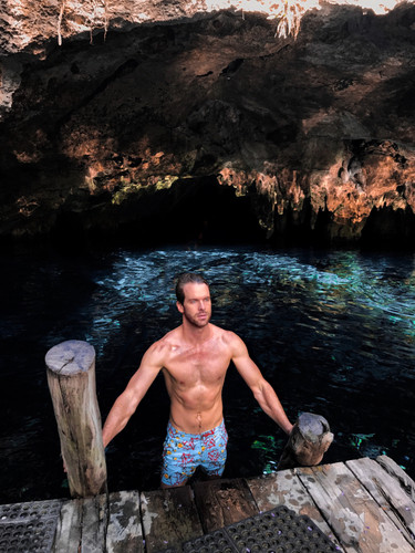 SWIMMING IN GRAND CENOTE, TULUM