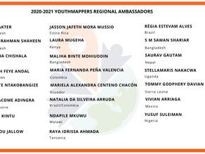 Introducing the 2020 – 2021 Regional Ambassadors