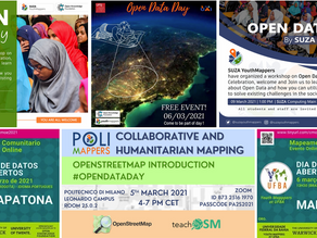 YouthMappers are celebrating Open Data Day!