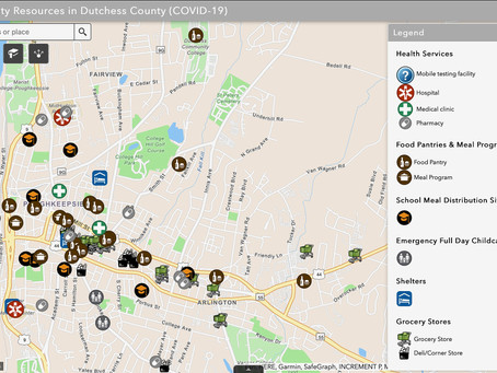 GIS Responses to COVID-19: Mapping Community Resources in Dutchess County, New York