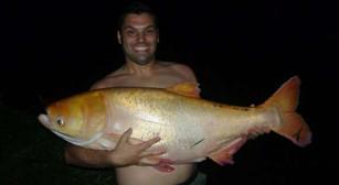 Pesqueiro Pantanosso – Um troféu Albino para nossos pescadores