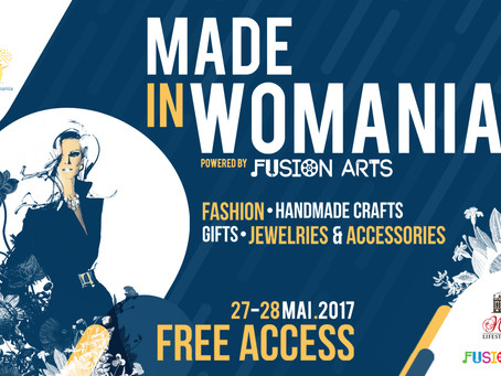 MADE IN WOMANIA - Join us today & tomorrow!
