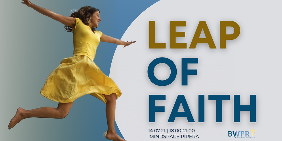 LEAP OF FAITH - workshop & networking