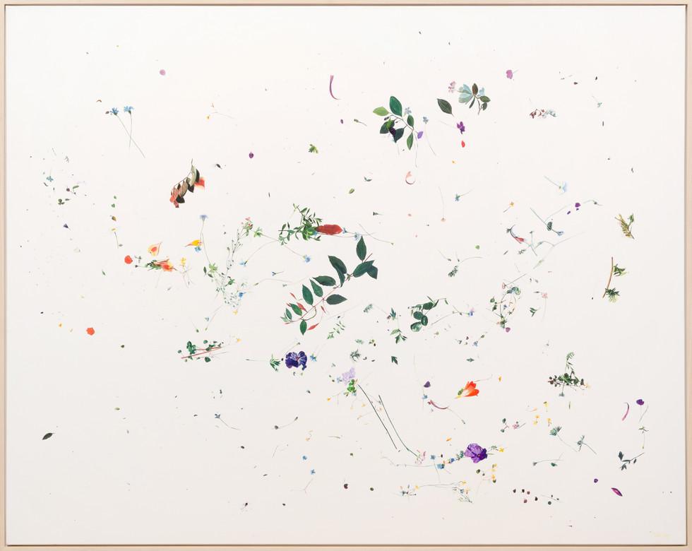 KIRSTEN BEETS. Bouquet, 2020. Oil on linen, 2020. 1055 x 1325mm. Framed.jpg