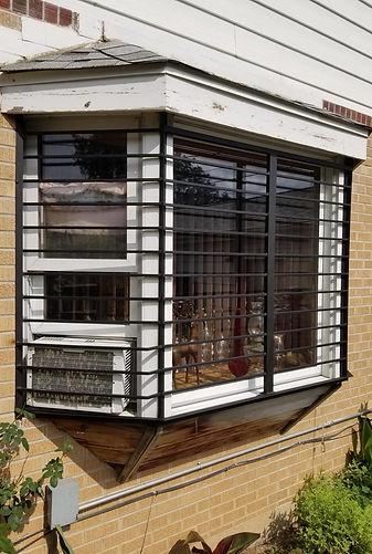Custom Window Security Bars Metal Fabrication