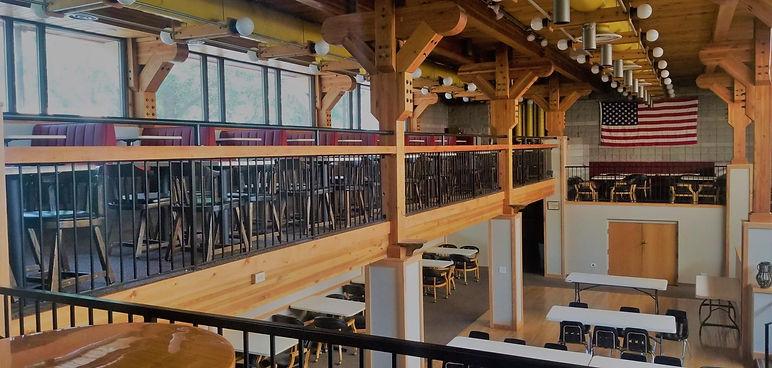 Elks Lodge Custom Rail