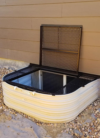 Egress Window Well Cover