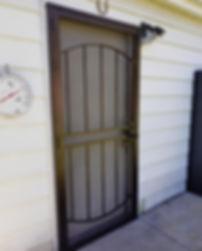 Custom Metal Security Screen Door