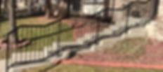 Custom Outdoor Handrail