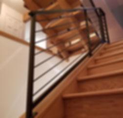 Custom Indoor Stair Rail