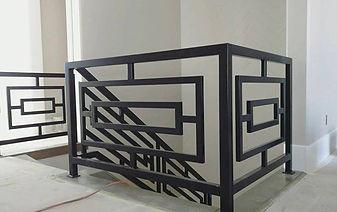 Custom Indoor Railing Metal Fabrication