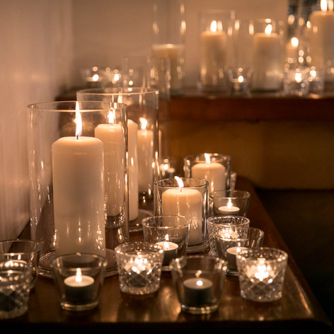 CANDLES + LIGHTING