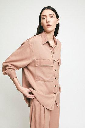 Overshirt Veronica in blush von Rita Row