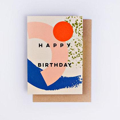 Klappkarte Birthday von The Completist