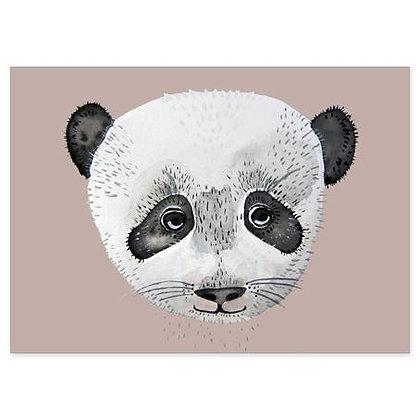 Postkarte Panda von Nuukk