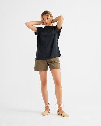 Basic Schwarzes Shirt Volta von Thinking Mu