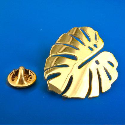 Golden Pin Monstera von AllThingsWeLike