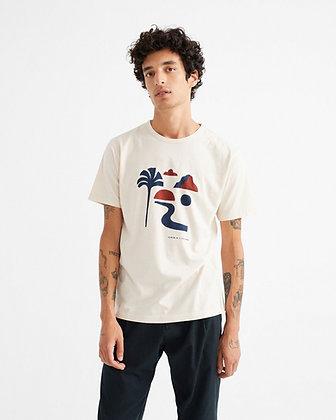 Cremefarbenes Shirt Oasis von Thinking Mu