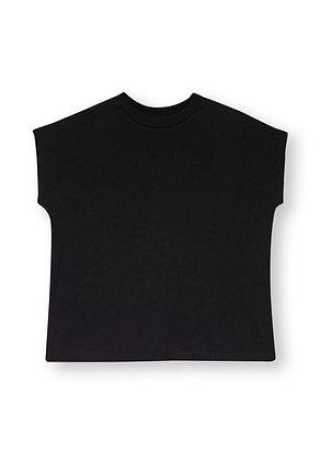 Boxy Shirt in schwarz von ThokkThokk