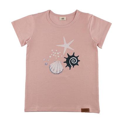 T-Shirt Shells Pearls von Walkiddy