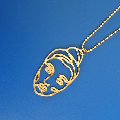Kette Woman golden necklace von AllThingsWeLike