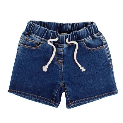 Jeans Shorts mit elastischem Bund von Walkiddy