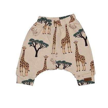 Baggy Shorts Giraffes von Walkiddy