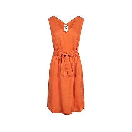 Light-Breeze Lyocell Kleid in Orange von Bleed