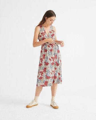 Kleid Small Flowers Amapola von Thinking Mu