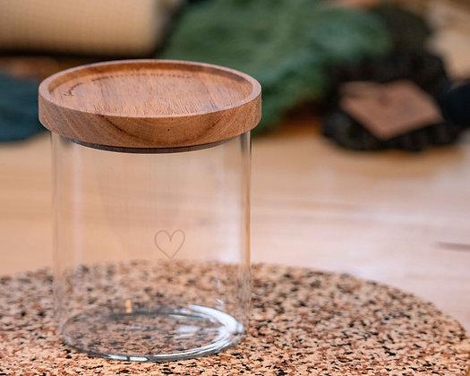 Vorratsglas Herz 13 cm von Eulenschnitt