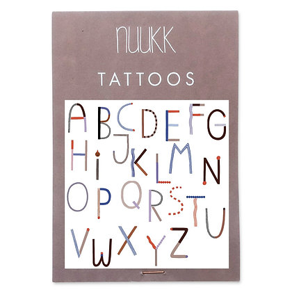 Organic Tattoos ABC (1.15) von Nuukk