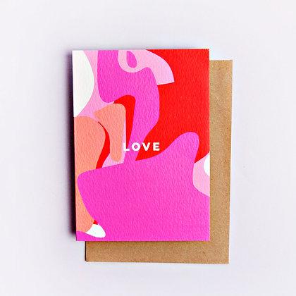 Klappkarte Love Shapes The Completist