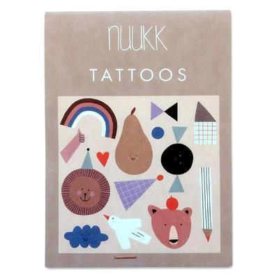 Organic Tattoos Happy von Nuukk