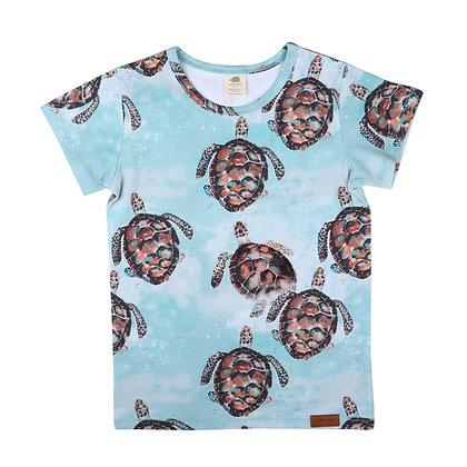 T-Shirt Sea Turtle von Walkiddy