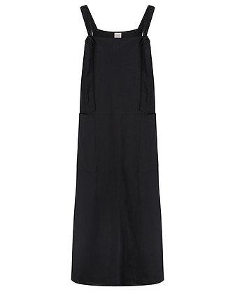 Ladies Dungarees Kleid schwarz von Turtledove