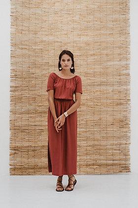 Kleid Radhika in berry von J-Label