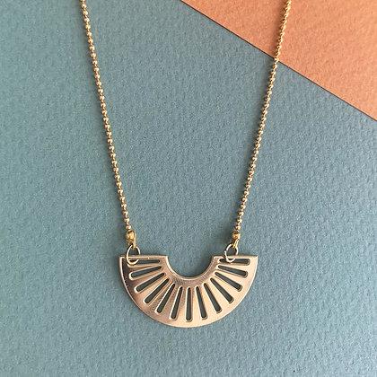 Kette Sunrise golden necklace von AllThingsWeLike