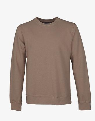 Classic Organic Sweatshirt in Warm Taupe von Colorful Standard