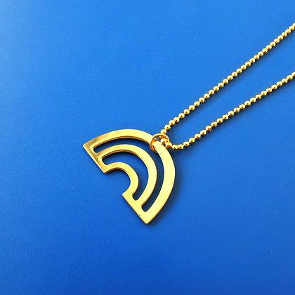 Kette Rainbow golden necklace von AllThingsWeLike