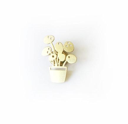 Golden Pin Pilea von AllThingsWeLike
