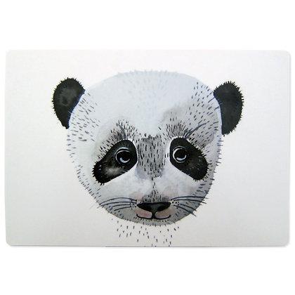Kleines Schneidebrett Panda von Nuukk