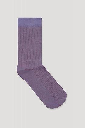 Socken Line in lila von Elementy