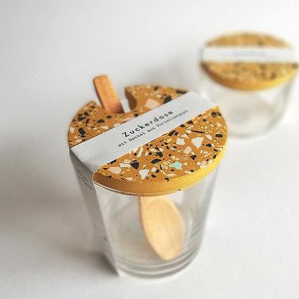 Zuckerdose ocker von Objet Vague
