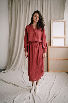Alpana Maxi dress in Animal blocks von J-Label