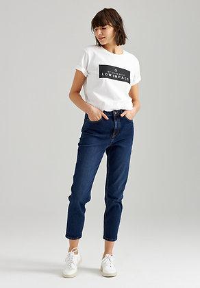 Cropped Mom Jeans in indigo von Thokk Thokk