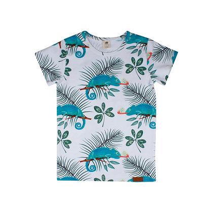 T-Shirt Chameleons von Walkiddy