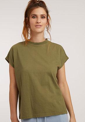 Boxy Shirt in oliv von ThokkThokk