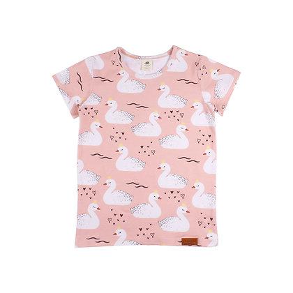 T-Shirt Princess Swans von Walkiddy