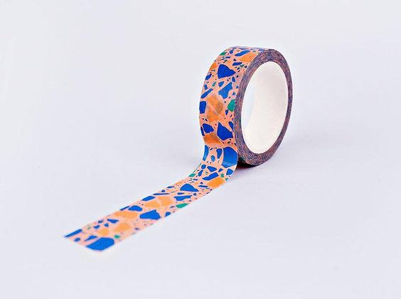 Washi Tape Peach Terrazzo von The Completist