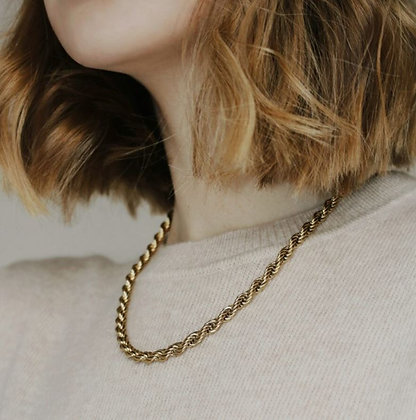 Kette Gold Rope Chain von Weathered Penny